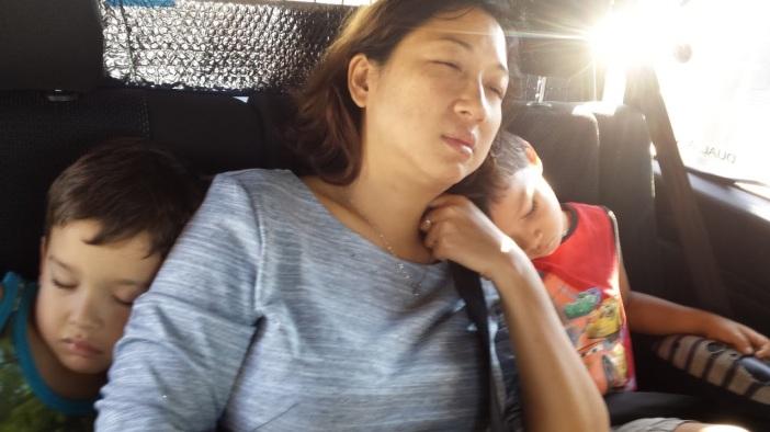 Dormint de camí a l'Empordà